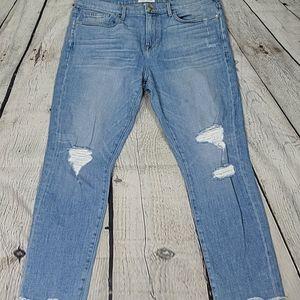 Frame le boy high rise jeans